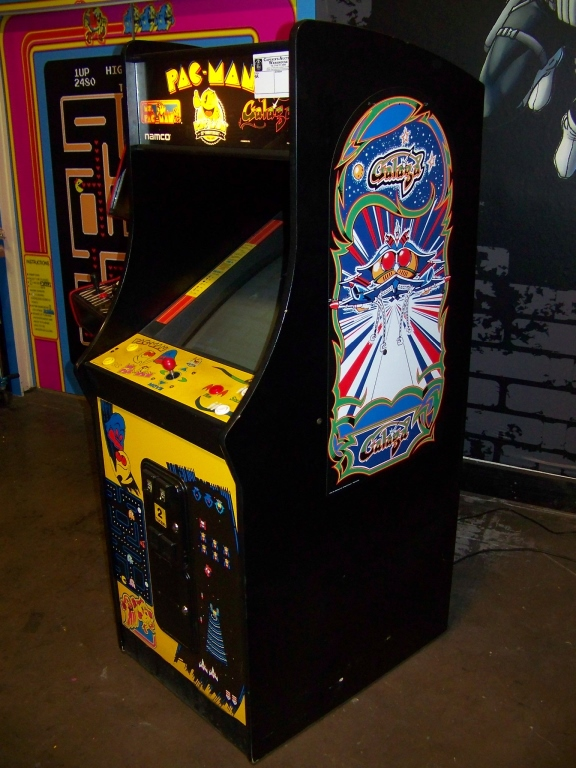 Lot 122 - PACMAN 25TH ANNIVERSARY UPRIGHT ARCADE GAME NAMCO