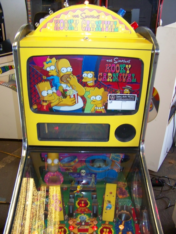 Lot 165 - SIMPSONS KOOKY CARNIVAL TICKET REDEMPTION GAME