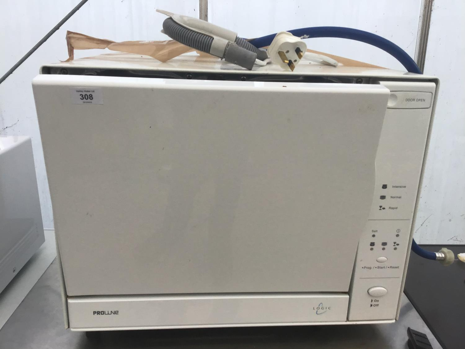 Lot 308 - A PROLINE LOGIC COUNTER TOP DISHWASHER IN WORKING ORDER