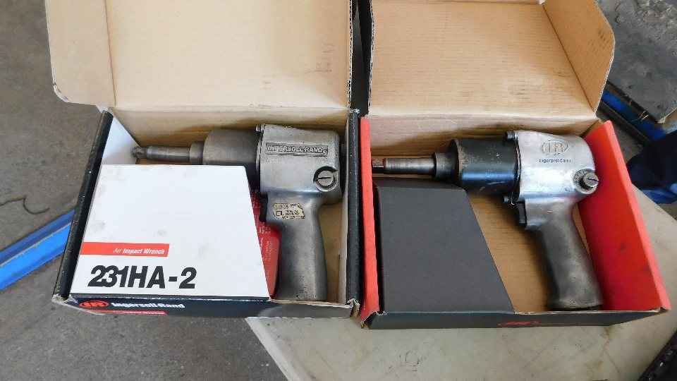 """Lot 2 - (2) Ingersoll Rand Rebuilt 1/2"""" Impact Wrenches in Boxes"""