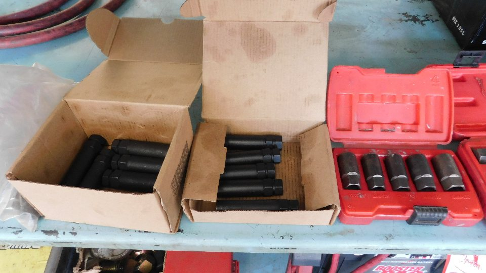 Lot 8 - (2) Cases with Impact Sockets and a Fuel Line Repair Kit