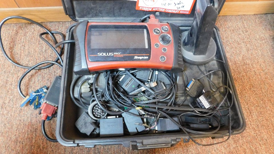 Lot 32A - Snap-On Solus Pro Automotive Scanner
