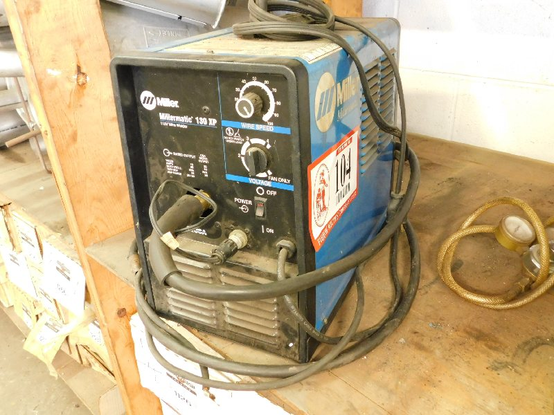 Miller Millermatic 130xp Wire Welder Auto Arc Mig Welder Mdl 120 Both Non Working