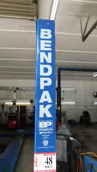 Lot 48 - Bendpak 4-Post Automotive Lift 12,000LB capacity w/alignment setup