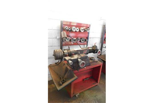 Choice of lots: 52, 53 } } } } } Ammco Brake Lathe Mdl 4000