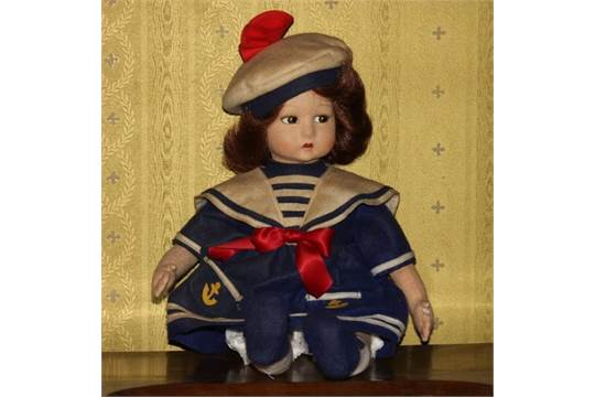 buy popular 6d413 9a915 Bambola in panno lenci, della Lenci, n. HH325