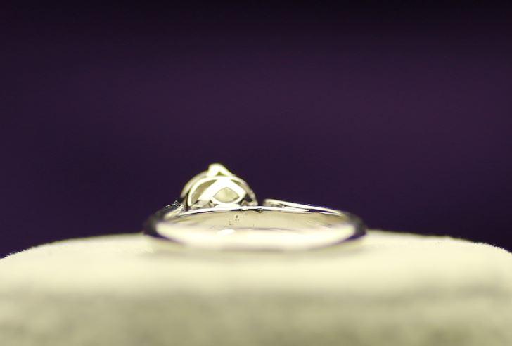 18k White Gold Single Stone Prong Set Diamond Ring 1.20 - Image 3 of 4