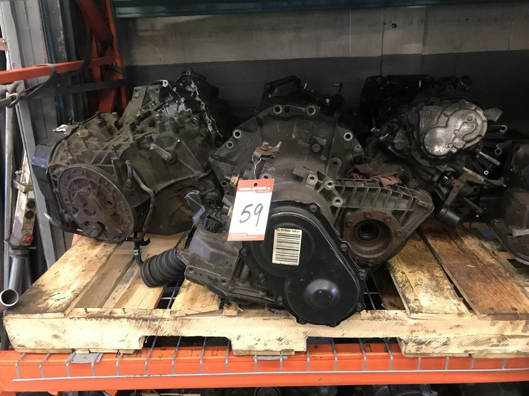 Lot 59 - USED TRANSMISSION (PARTS) x 5