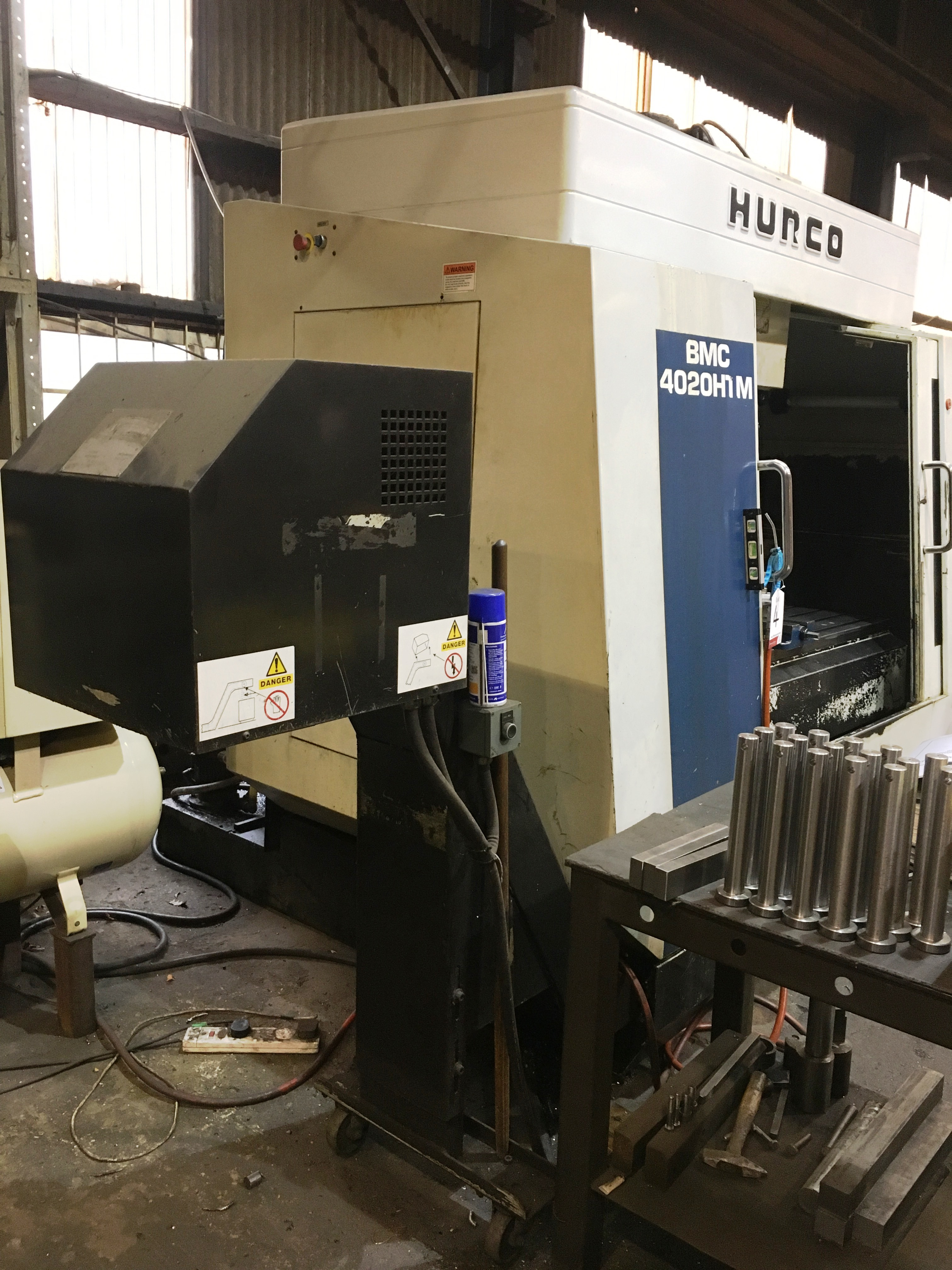 Hurco BMC 4020 HT/M CNC Vertical Machining Centre | YOM: 2000 - Image 6 of 16