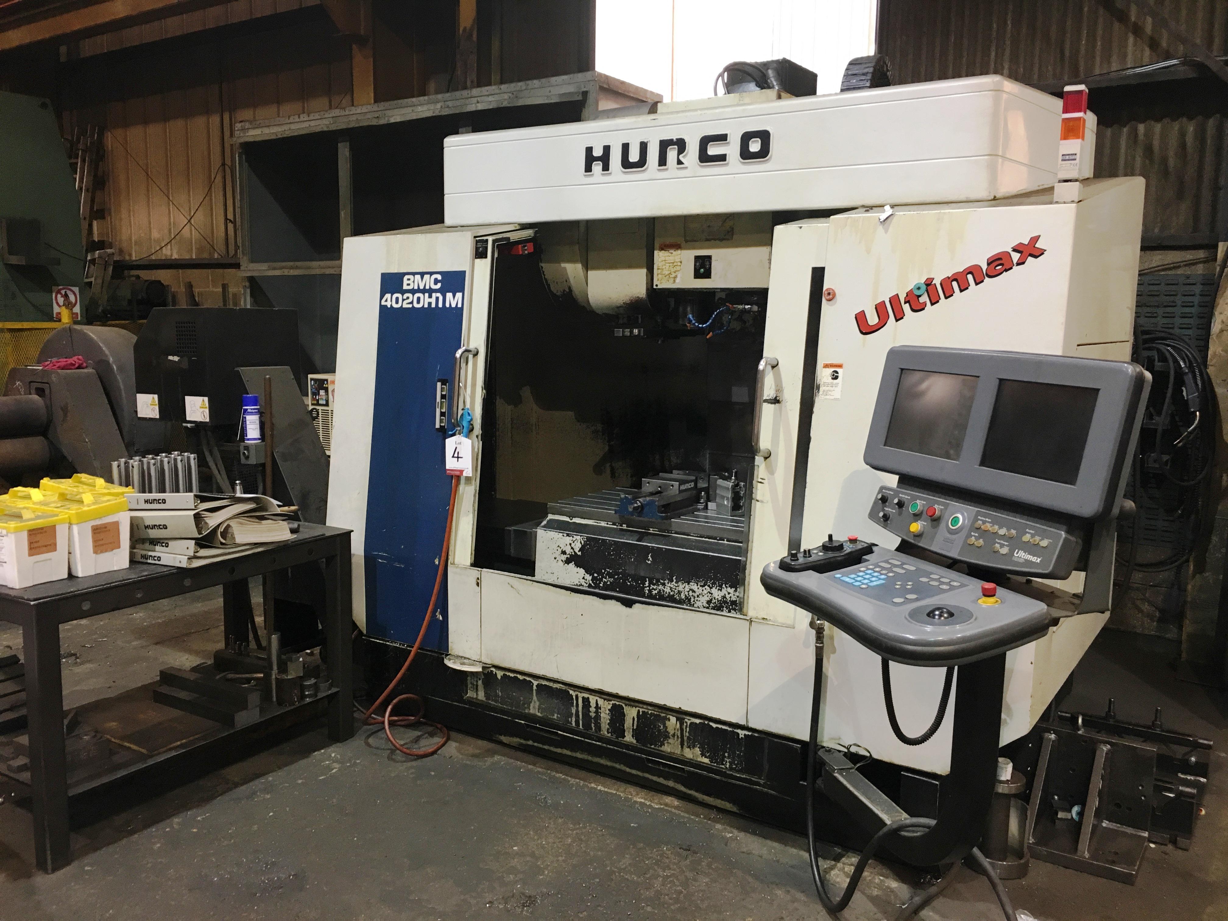 Hurco BMC 4020 HT/M CNC Vertical Machining Centre | YOM: 2000