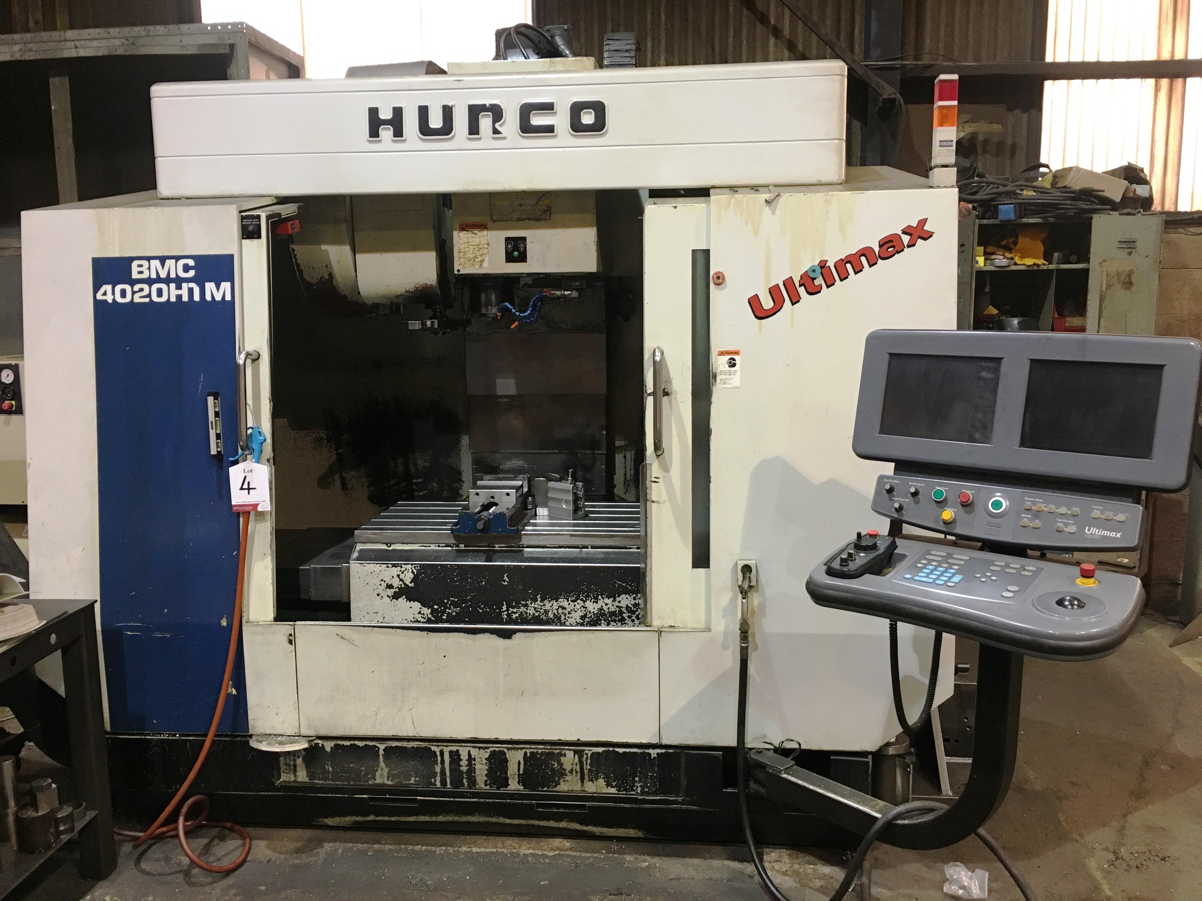 Hurco BMC 4020 HT/M CNC Vertical Machining Centre | YOM: 2000 - Image 2 of 16