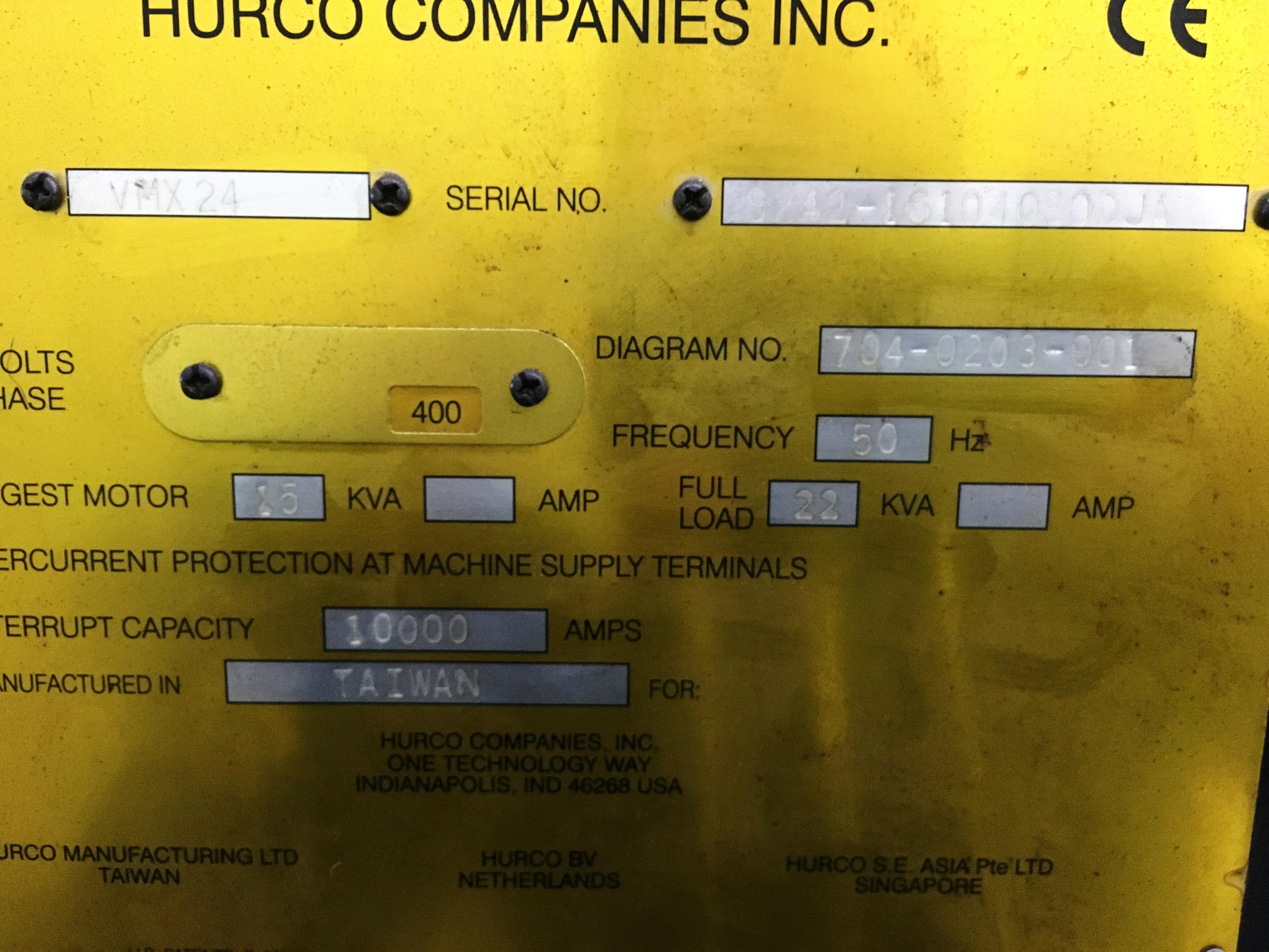 Hurco VMX24m CNC Vertical Machining Centre | YOM: 2010 - Image 8 of 8