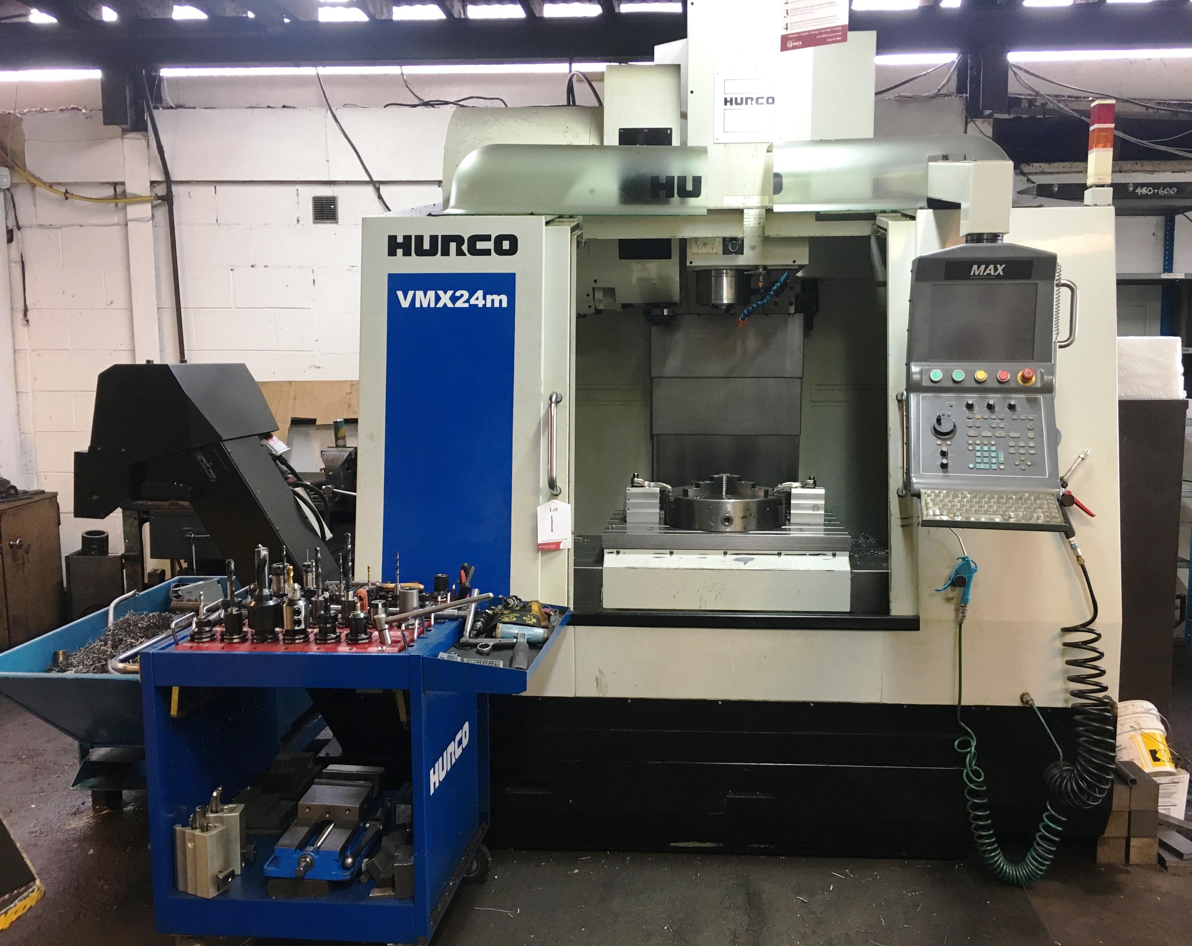 Hurco VMX24m CNC Vertical Machining Centre | YOM: 2010