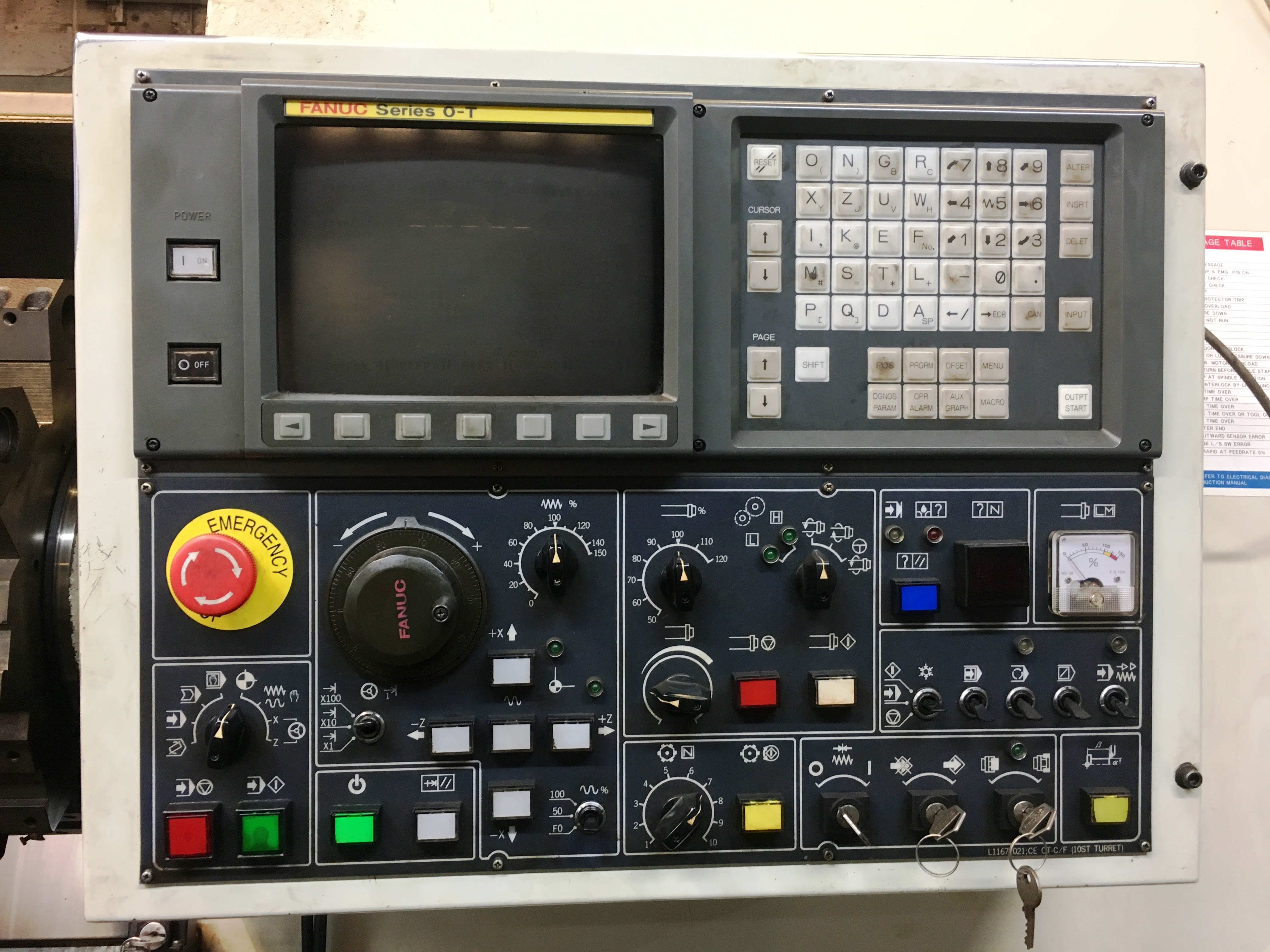 Daewoo Puma 12L CNC Lathe | 1995 - Image 4 of 10