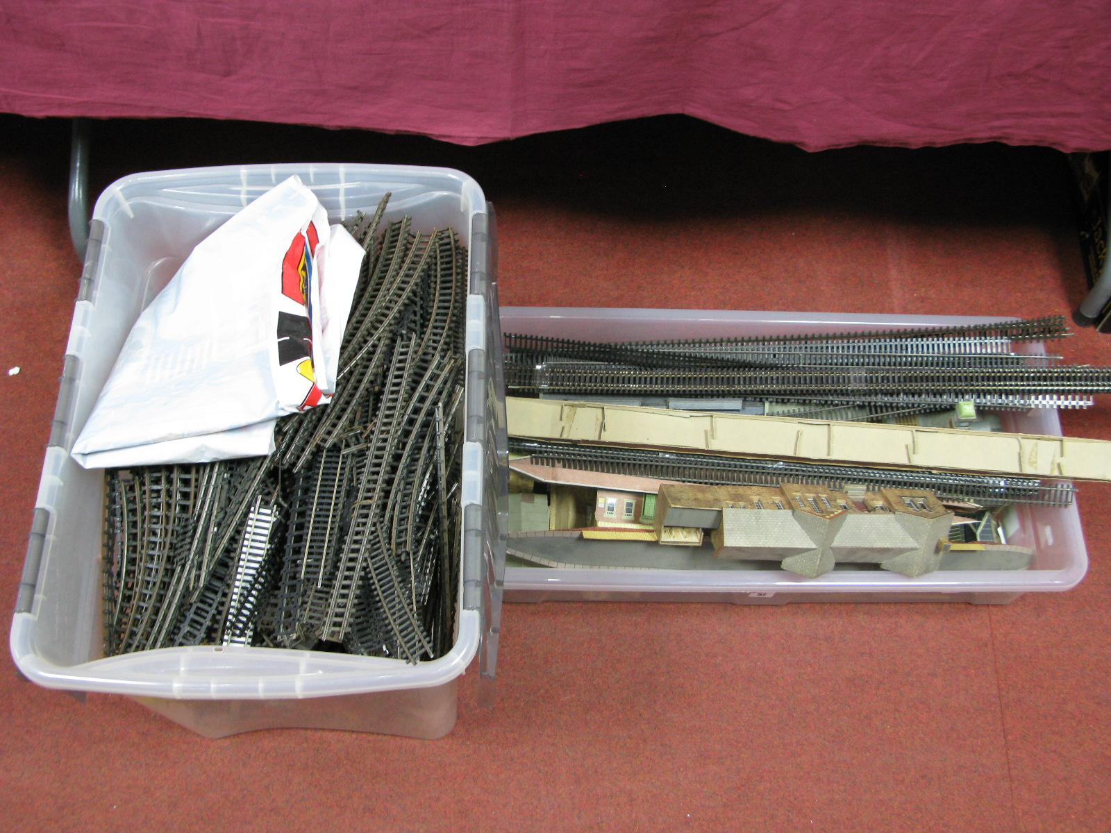 "Lot 57 - A Quantity of ""OO"" Scale Lineside Buildings and Accessories, by Triang, Hornby, Superquick Model"