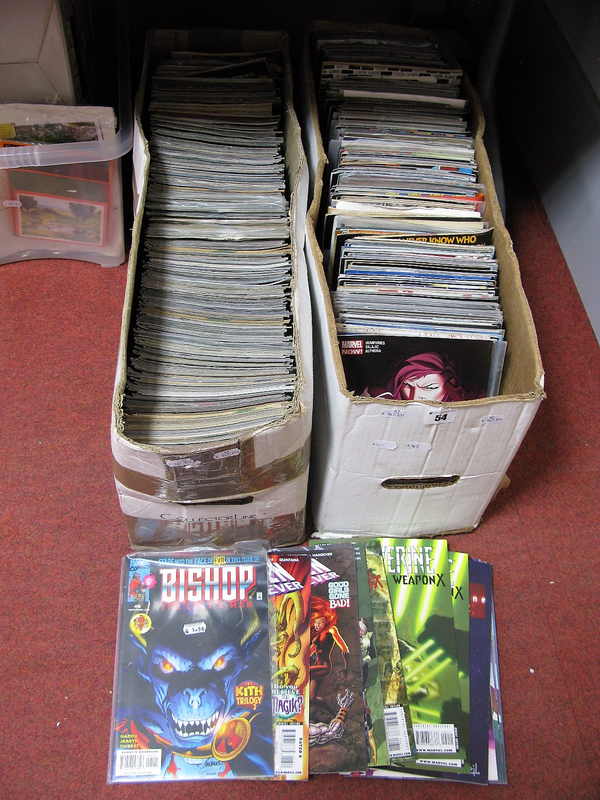 Lot 54 - In Excess of Five Hundred Comics By Marvel, Max comics, DC, IDW, Including X-Men Forever,