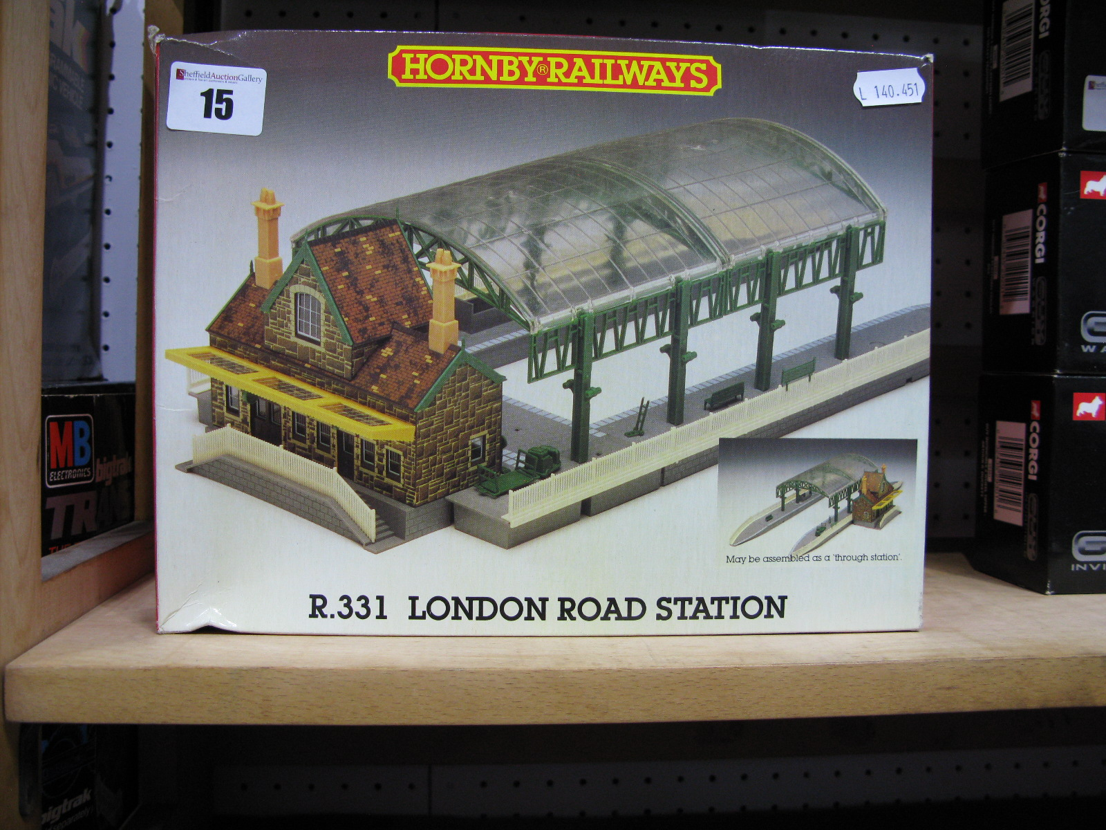 "Lot 15 - A Boxed Hornby ""OO"" Scale # R331 London Road Station."