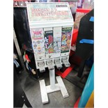 4 SELECT STICKER TATTOO VENDING STAND WHT