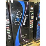 DIXIE NARCO CB501T/S11-8 SODA VENDING MACHINE #12