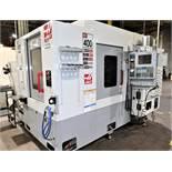 "2004 Haas EC-400 16"" X 16"" 4-AXIS PRECISION HORIZONTAL MACHINING CENTER"