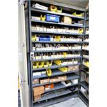 (2) Racks And Cabinet With Contents,