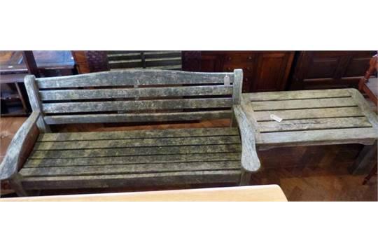 Miraculous Swan Hattersley Garden Bench Low Table And Folding Table Creativecarmelina Interior Chair Design Creativecarmelinacom