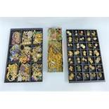 A large quantity of costume jewellery to include necklaces, brooches and clip on earrings, etc