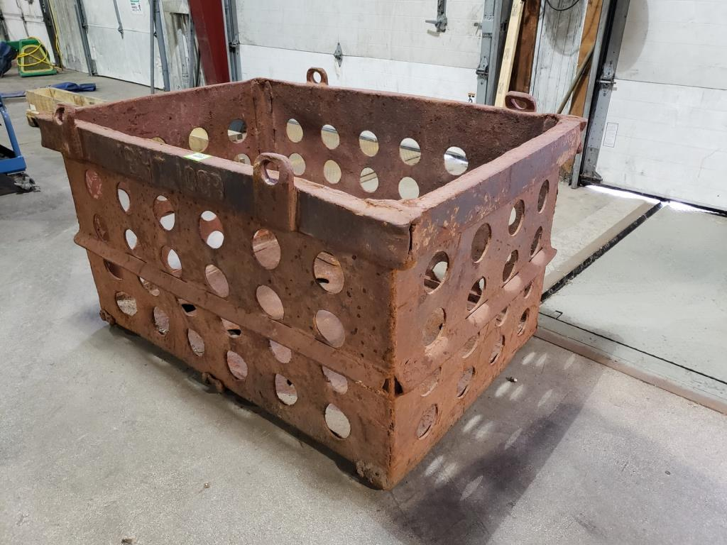 Lot 102 - Heat Treat Boxes