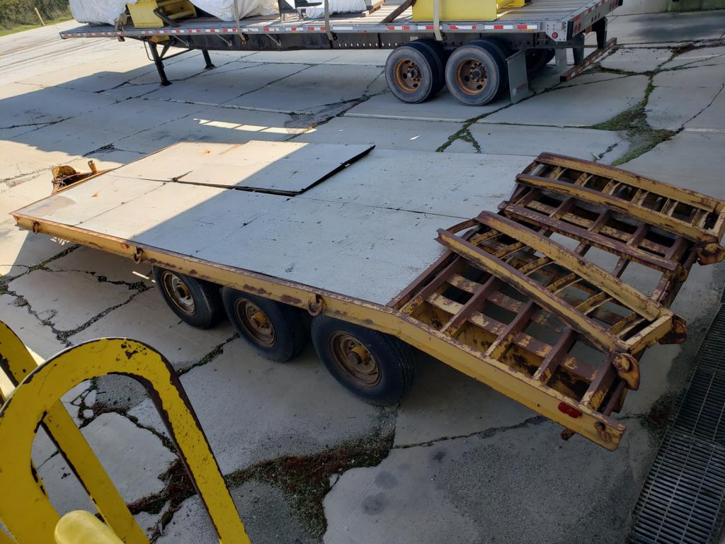 Lot 150 - Skid Steer Trailer