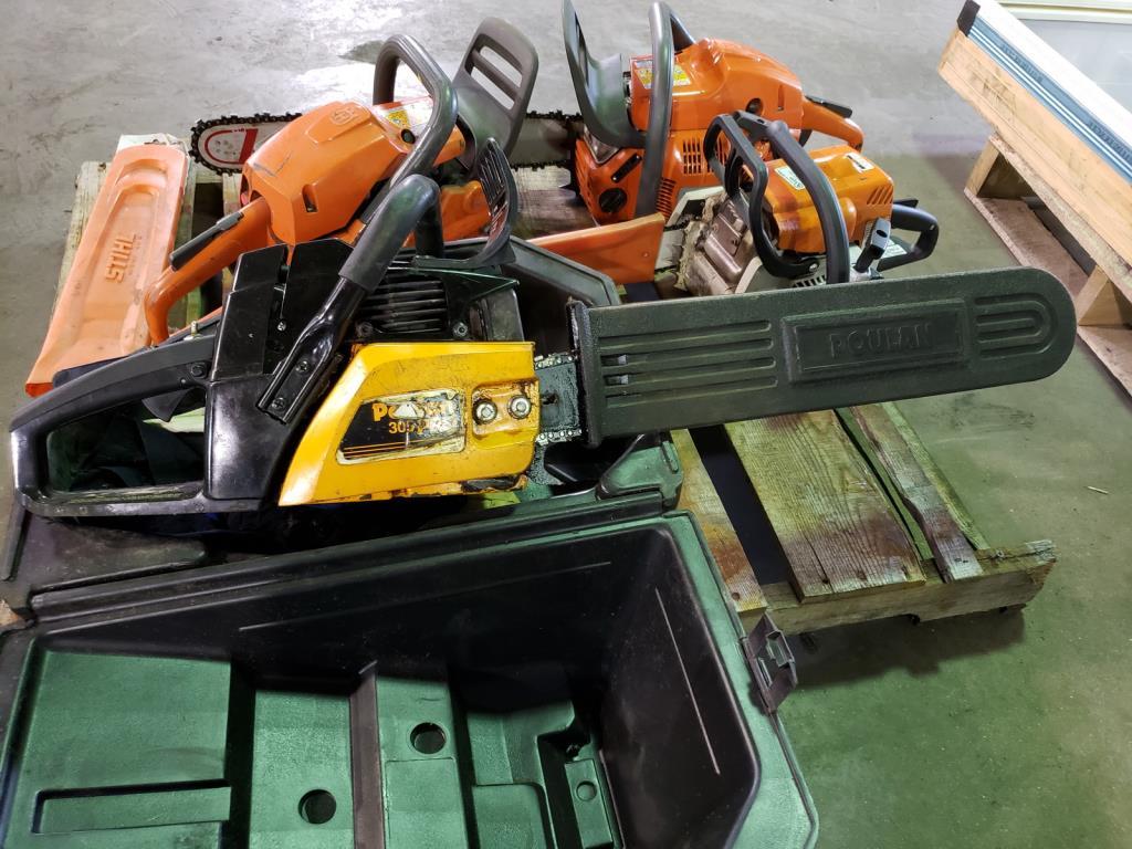 Lot 126 - Chain Saws