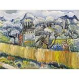 Kleinschmidt, Paul1883 Bobolice - 1949 BensheimAus Paradou II. 1937. Oil on canvas. Doubled. 75,5