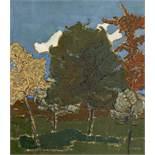 Goller, Bruno1901 Gummersbach - 1998 DüsseldorfUntitled. 1920s. Oil on canvas. 56,5 x 49,5cm. Signed