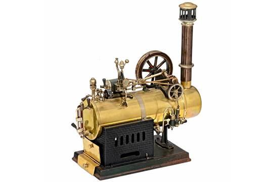Entfernungsmesser Falk : Falk stationary steam engine c josef nuremberg model