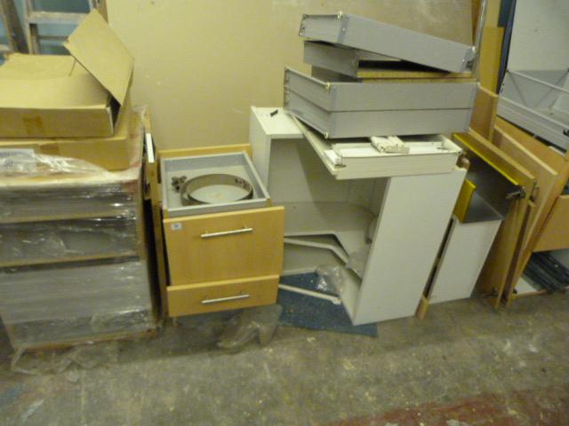 Assorted Part Built Kitchen Carcasses
