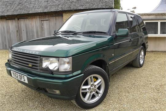 2001 P38 A,Range Rover, 30th Anniversary Limited Edition 4 6