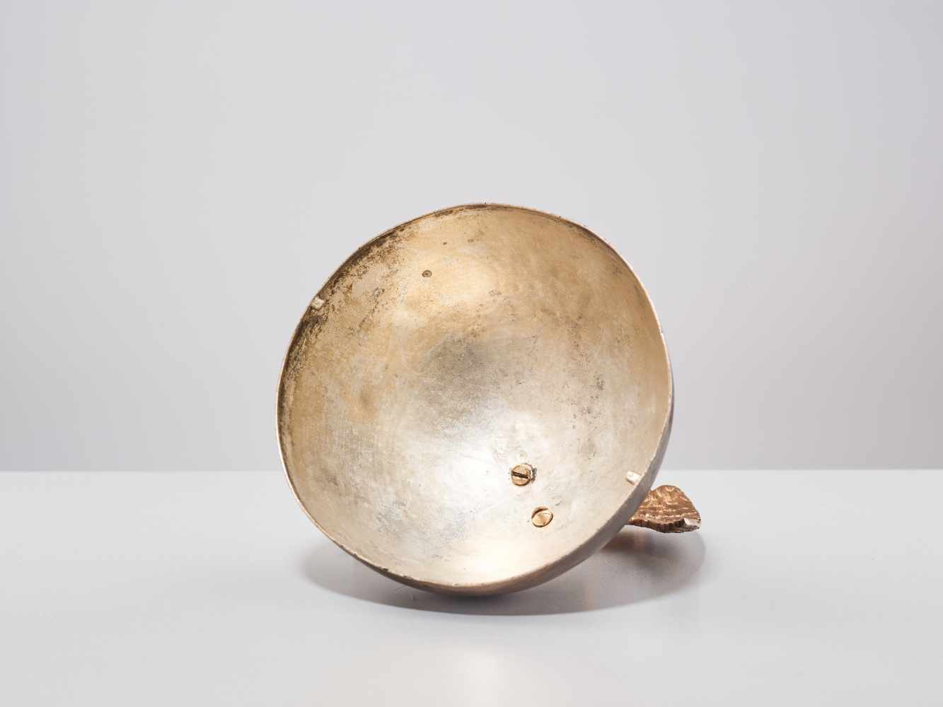 A 19TH CENTURY RUSSIAN LIDDED BOX 'EAGLE ON ORB'Silverplate metal and gilt bronzeRussiaaround 1830- - Image 3 of 11