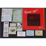 Lot 140 - 1970s PASSES & BUZZCOCKS - tickets and passes for Manchester bands and venues along with a sealed