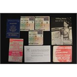 Lot 138 - BRUCE SPRINGSTEEN - a collection of Bruce Springsteen tickets and memorabilia to include an All