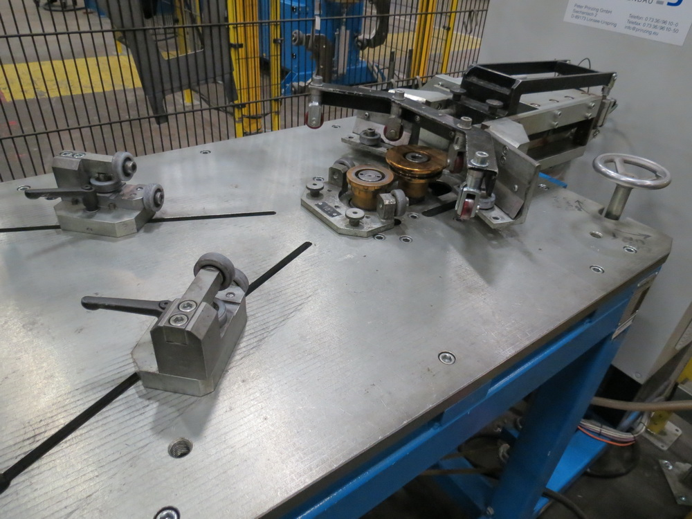 2015 Prinzing Model SME 80V Body Band Flanger, 2.0 mm Thickness, 100 mm Length - Image 4 of 13