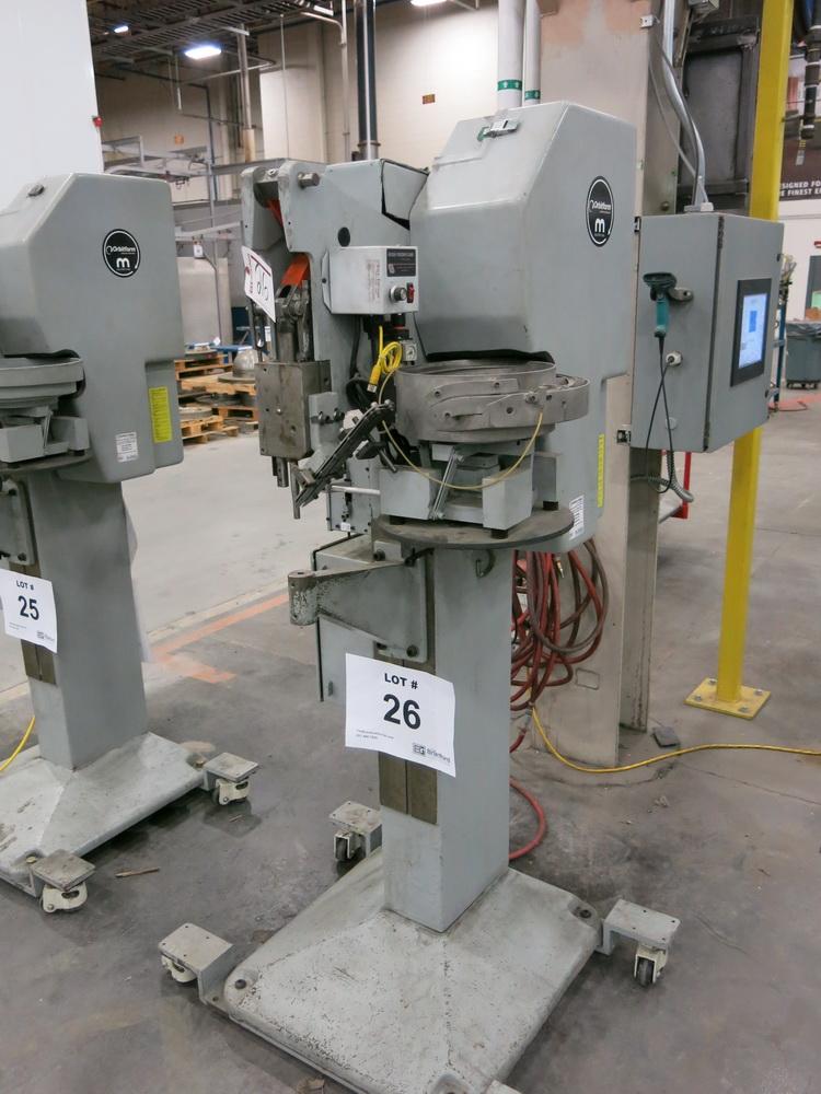 Orbitform and Milford Riveting Machine, Model 405-VH, w/ Vibratory Bowl Feeder