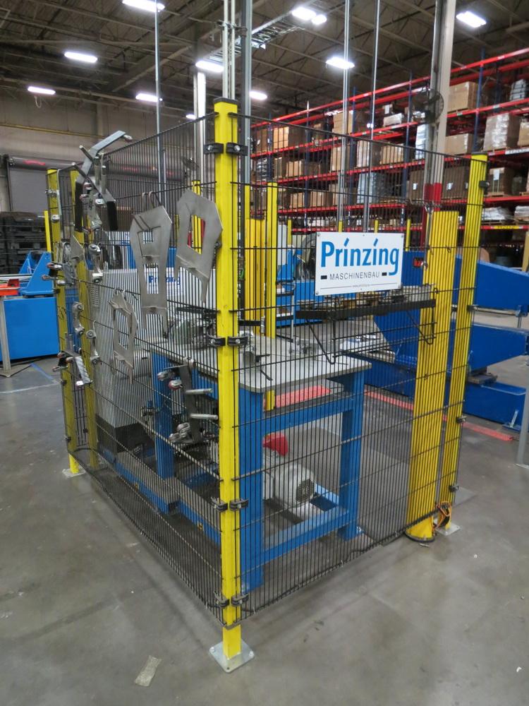 2015 Prinzing Model SME 80V Body Band Flanger, 2.0 mm Thickness, 100 mm Length - Image 12 of 13