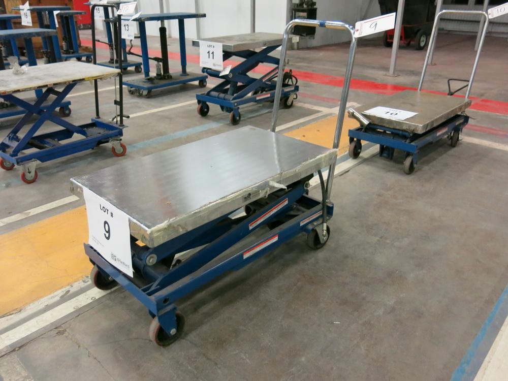 Hydraulic/Pneumatic Die Lift Cart