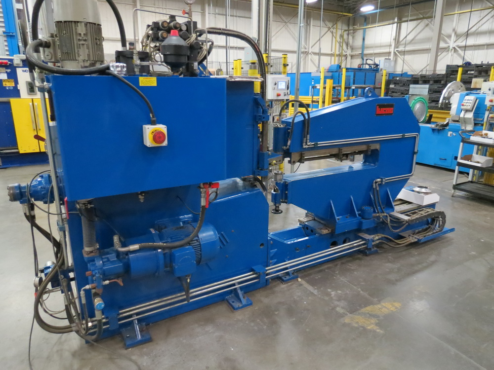 "2014 Lucas Model 6-1800 Shear and Beading Machine, 70"" max. diameter - Image 3 of 13"