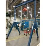 Vestil Model AHS-8-10-14 4 Ton Mobil Gantry Crane System