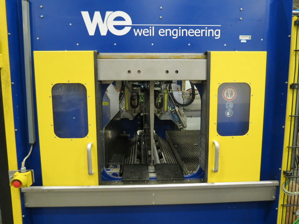 2014 Weil Technology NC Multi-roller 600/1250C Bending Machine - Image 20 of 25