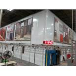 Paint Environmental Room - Approx. 54' x 66' x 30' Modular Spray Booth Enclosure System