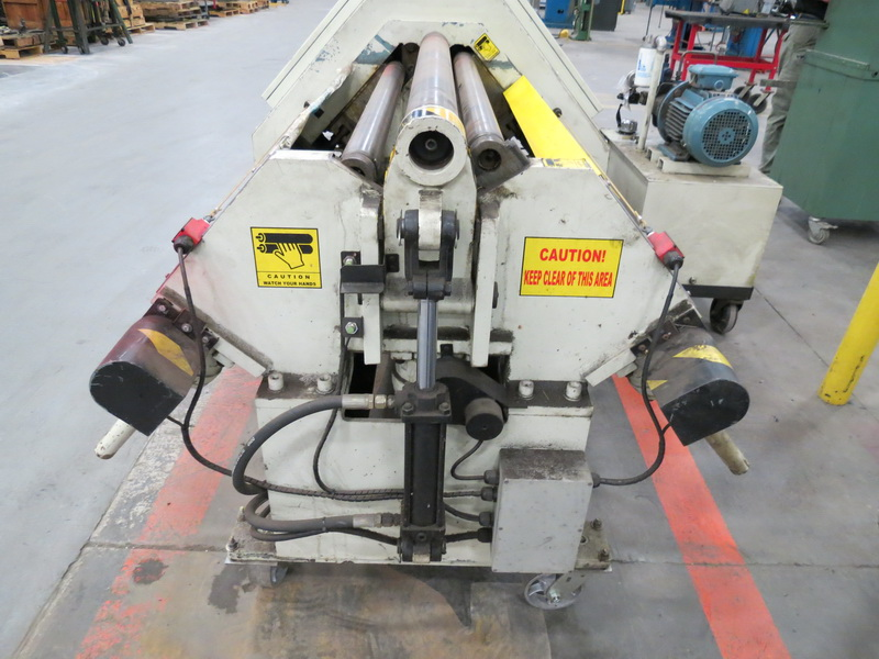 "Weld Logic Model 4R-PB 4-Roll Roller, Max Width Cap. 36"" w/ Weinview Digital Controls - Image 8 of 10"