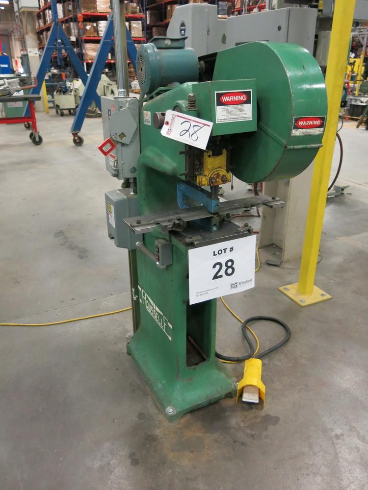"""Rousselle Model OG 5-Ton OBI Press, 1 1/4"""" Stroke Press"""