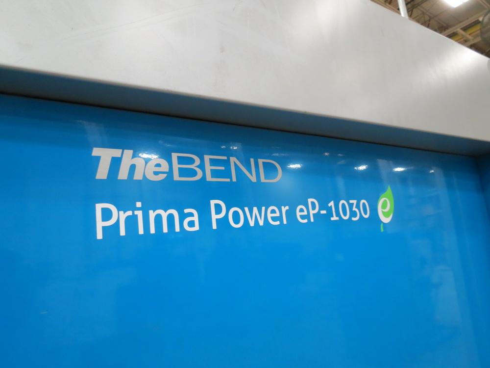 2014 Prima EP1030 3 Meter Electric Servo Press Brake - Image 7 of 13