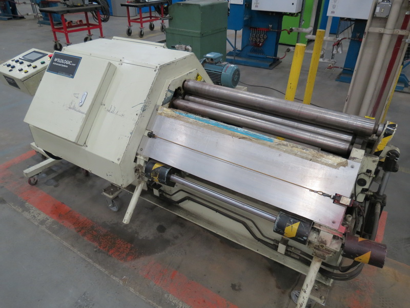 "Weld Logic Model 4R-PB 4-Roll Roller, Max Width Cap. 36"" w/ Weinview Digital Controls - Image 3 of 10"